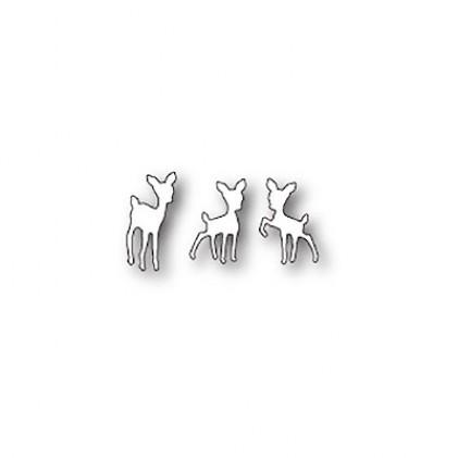 Poppy Stamps Stanzschablone - Tiny Fawns