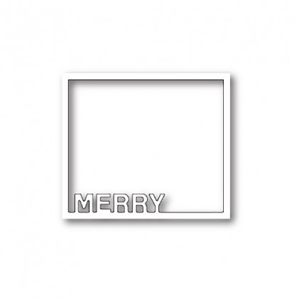 Poppy Stamps Stanzschablone - Merry Frame