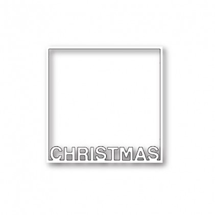 Poppy Stamps Stanzschablone - Christmas Frame