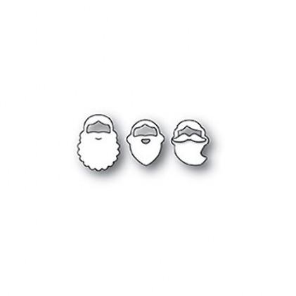 Poppy Stamps Stanzschablone - Holiday Beards