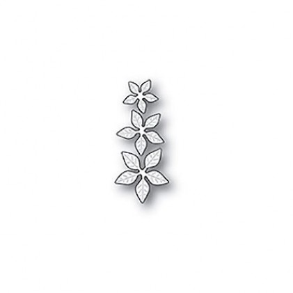 Poppy Stamps Stanzschablone - Poinsettia Mini