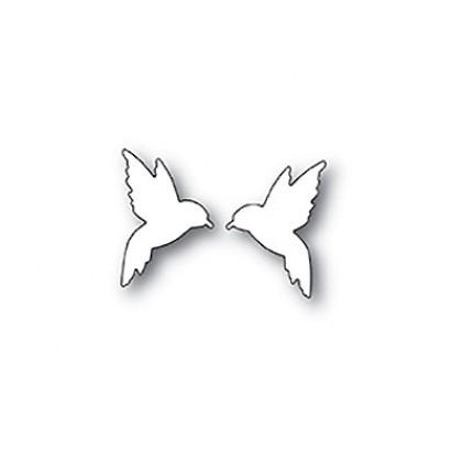 Poppy Stamps Stanzschablone - Little Hummingbirds