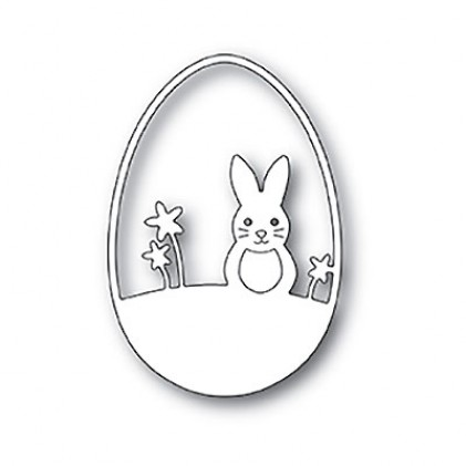 Poppy Stamps Stanzschablone - Easter Bunny Egg