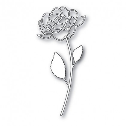 Poppy Stamps Stanzschablone - Rose Stem
