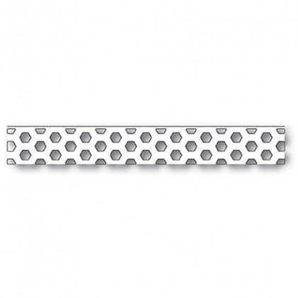 Poppy Stamps Stanzschablone - Little Hexagon Border Layer