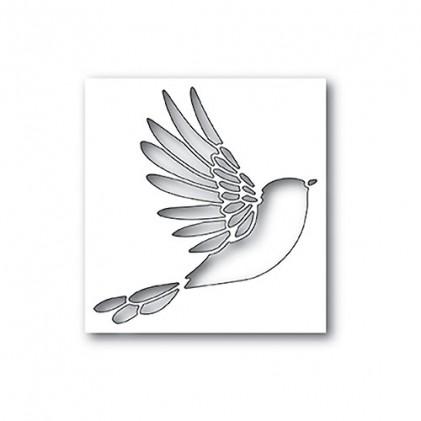 Poppy Stamps Stanzschablone - Winged Bird Collage