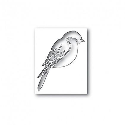 Poppy Stamps Stanzschablone - Perched Bird Collage
