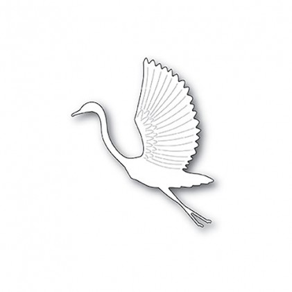 Poppy Stamps Stanzschablone - Graceful Heron
