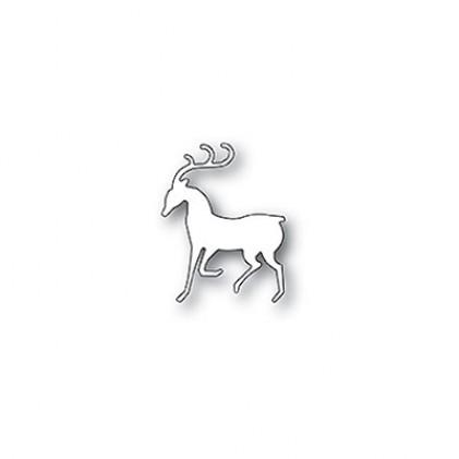 Poppy Stamps Stanzschablone - Dashing Reindeer