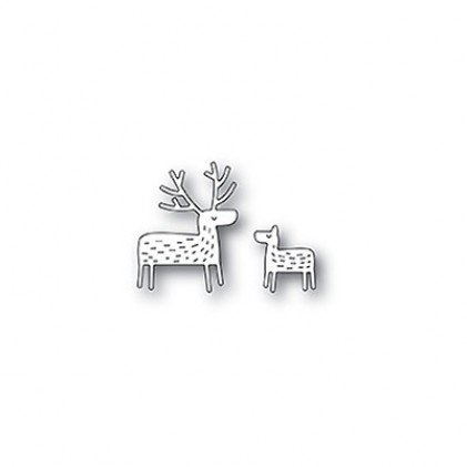 Poppy Stamps Stanzschablone - Whittle Deer
