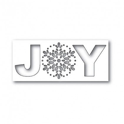 Poppy Stamps Stanzschablone - Seed Snowflake Joy