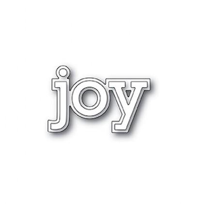 Poppy Stamps Stanzschablone - Joy Outline
