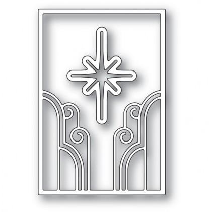 Poppy Stamps Stanzschablone - Deco Star Frame - 30% RABATT