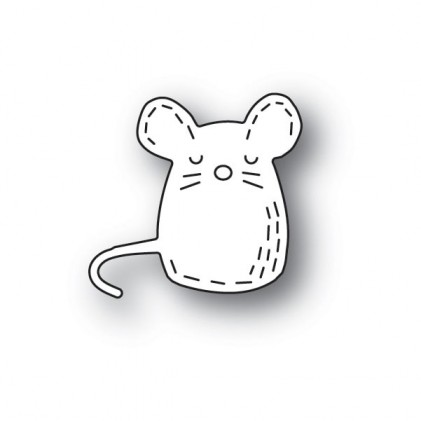 Poppy Stamps Stanzschablone - Whittle Mouse