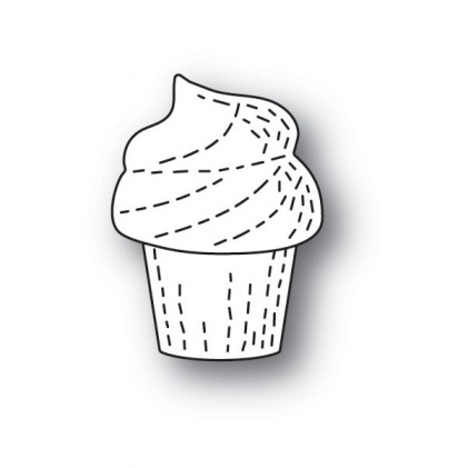 Poppy Stamps Stanzschablone - Whittle Cupcake