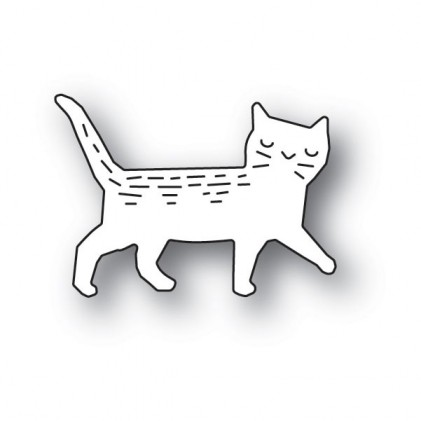 Poppy Stamps Stanzschablone - Whittle Cat