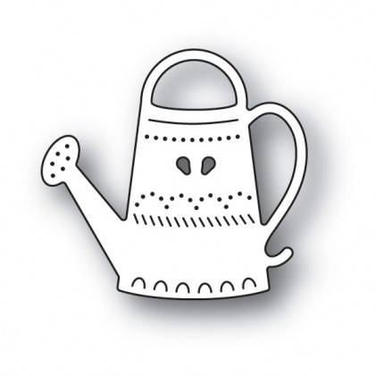 Poppy Stamps Stanzschablone - Folk Watering Can
