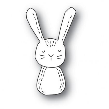 Poppy Stamps Stanzschablone -  Whittle Rabbit