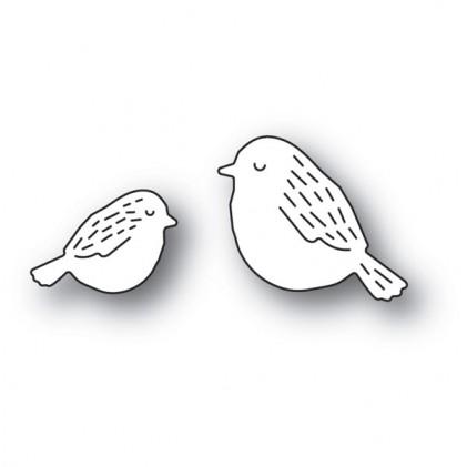 Poppy Stamps Stanzschablone -  Whittle Birds