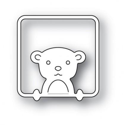 Poppy Stamps Stanzschablone - Peek a Boo Bear