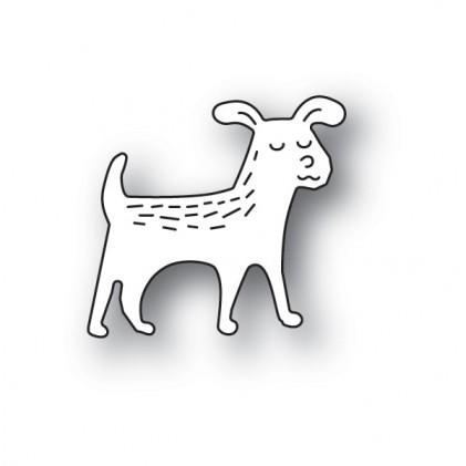 Poppy Stamps Stanzschablone - Whittle Dog