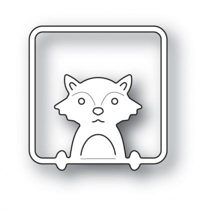 Poppy Stamps Stanzschablone - Peek a Boo Fox