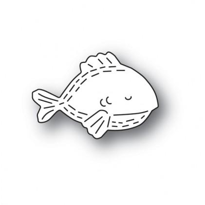 Poppy Stamps Stanzschablone - Whittle Fish