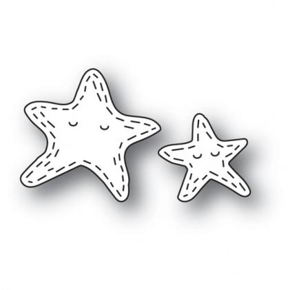 Poppy Stamps Stanzschablone - Whittle Starfish