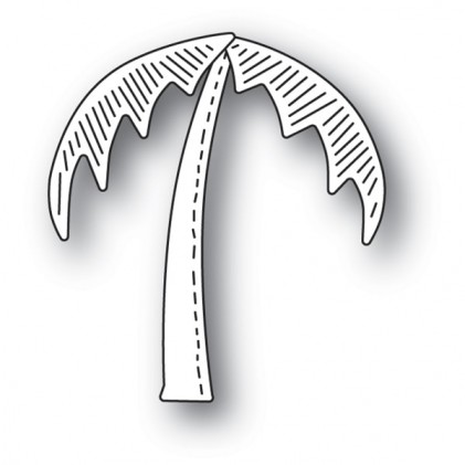 Poppy Stamps Stanzschablone - Whittle Palm Tree