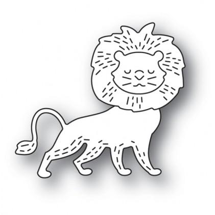 Poppy Stamps Stanzschablone - Whittle Lion