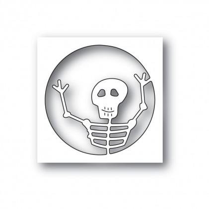 Poppy Stamps Stanzschablone - Surprise Skeleton