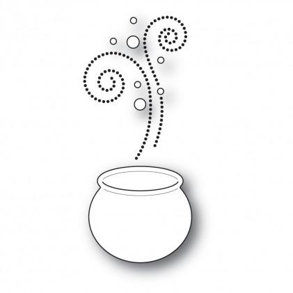 Poppy Stamps Stanzschablone - Magical Cauldron