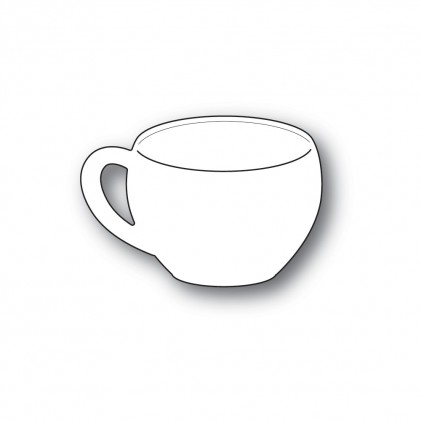 Poppy Stamps Stanzschablone - Classic Coffee Cup