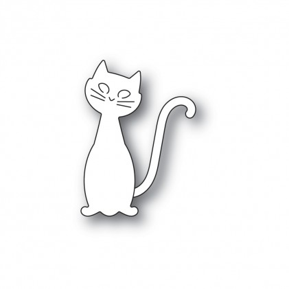 Poppy Stamps Stanzschablone - Friendly Cat