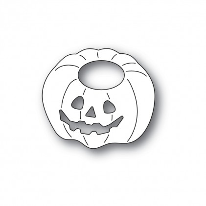 Poppy Stamps Stanzschablone - Happy Jack o Lantern
