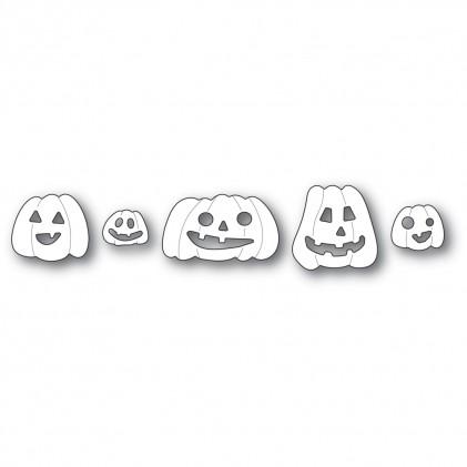 Poppy Stamps Stanzschablone - Haunting Pumpkins