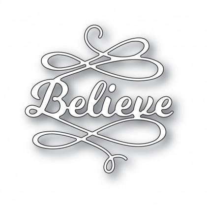 Poppy Stamps Stanzschablone - Believe Flourish