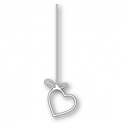 Poppy Stamps Stanzschablone - Hanging Heart