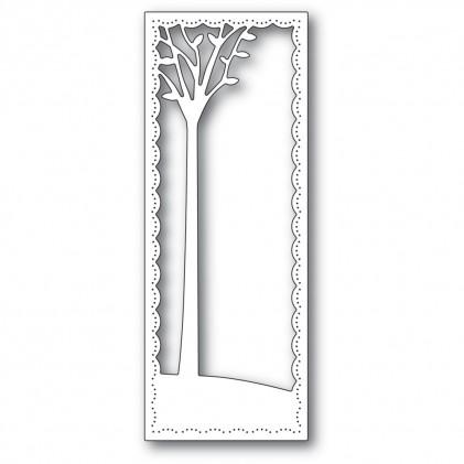 Poppy Stamps Stanzschablone - Tall Skyline Tree Frame