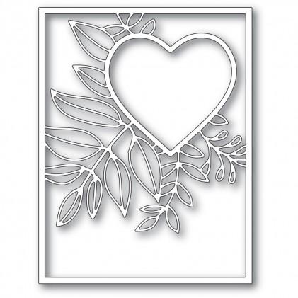 Poppy Stamps Stanzschablone - Graceful Heart Frame - 20% RABATT