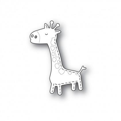 Poppy Stamps Stanzschablone - Whittle Giraffe