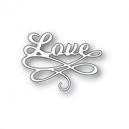 Poppy Stamps Stanzschablone - Love Flourish