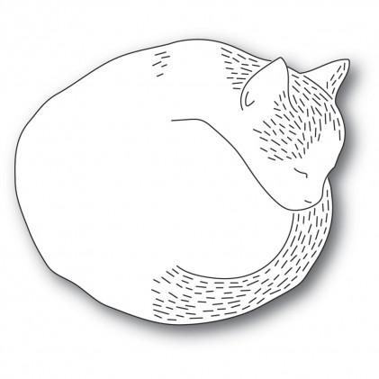 Poppy Stamps Stanzschablone - Whittle Cutie Cat