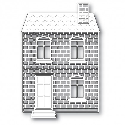 Poppy Stamps Stanzschablone - Proper Brick House