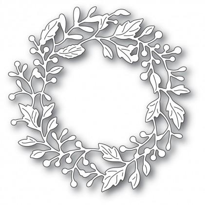 Poppy Stamps Stanzschablone - Adriana Wreath