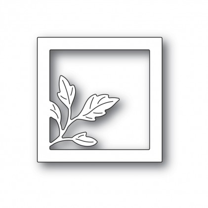 Poppy Stamps Stanzschablone - Orchard Leaf Square Frame