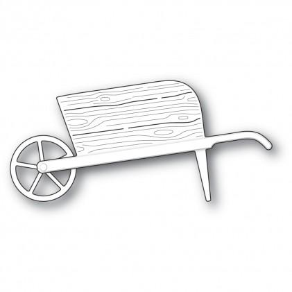Poppy Stamps Stanzschablone - Country Garden Wheelbarrow