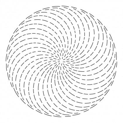 Poppy Stamps Stanzschablone - Whittle Spinner Background