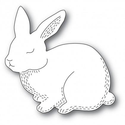 Poppy Stamps Stanzschablone - Whittle Cutie Rabbit