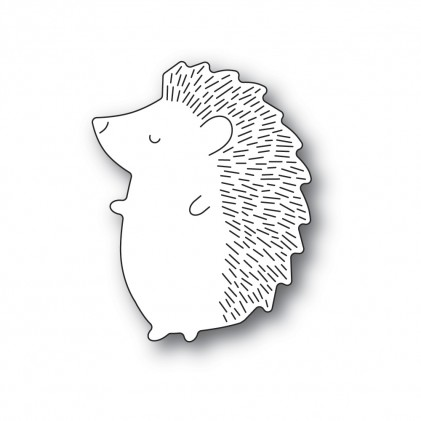 Poppy Stamps Stanzschablone - Big Hedgehog Left